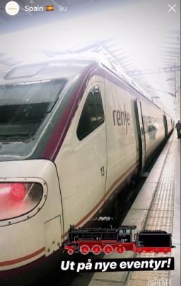 togreise i Spania