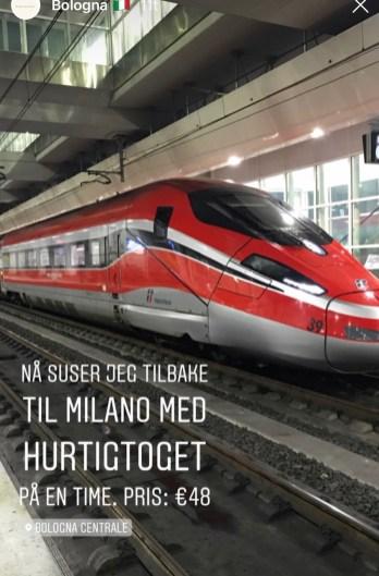 Hurtigtog til Bologna