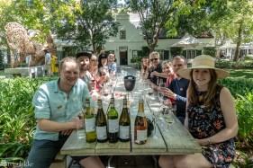 Vinsmaking i Franschhoek