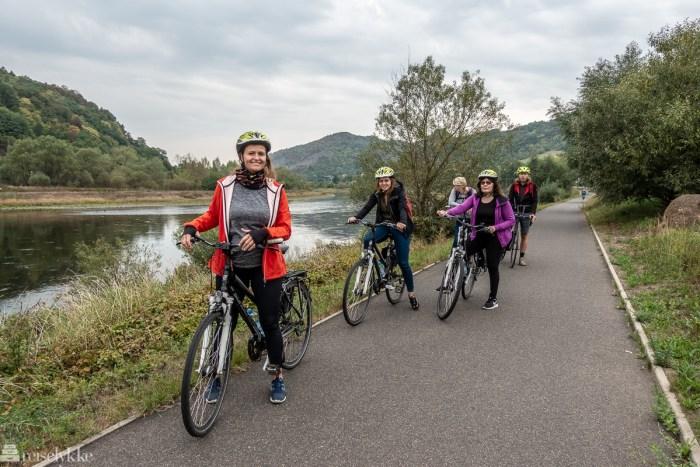 Sykkeltur langs Elbe