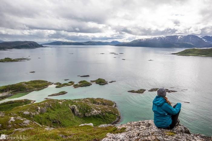 Utsikt fra Hillesøy fjell