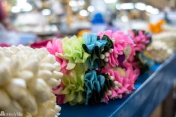 Blomstermarkedet i Bangkok Pak Khlong Talat