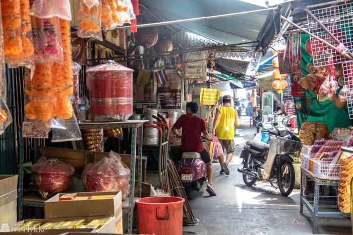 Chinatown ved Wat Mangkon Kamalawat