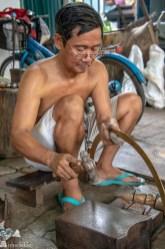 Learning CentreBuddhist Monk's Alms Bowl Making Bangkok