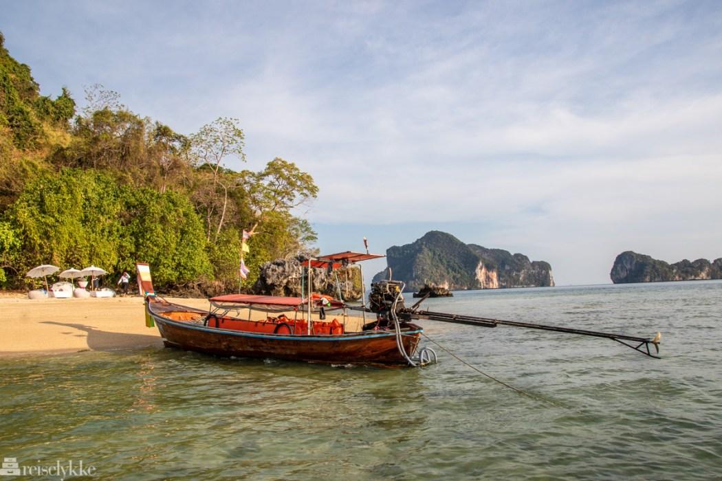 Øyhopping i Krabi Thailand