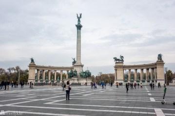 Helteplassen i Budapest