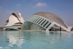 La Ciudad de las Artes y de las Ciencias i Valencia