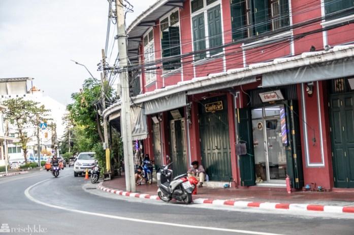 Bang Lamphu ligger på Rattanakosin Island