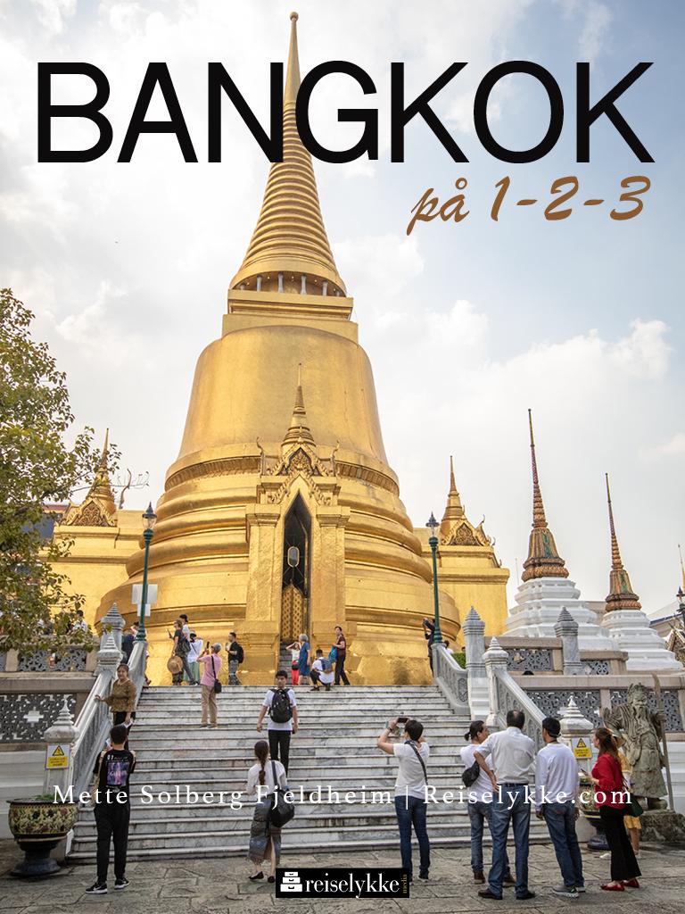 Reiseguide til Bangkok Thailand, forside