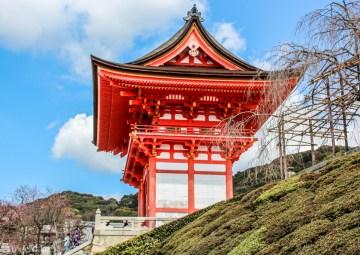 Ved Kiyomizu-templet