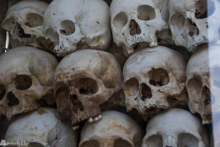 9 000 hodeskaller Killing Fields Phnom Penh