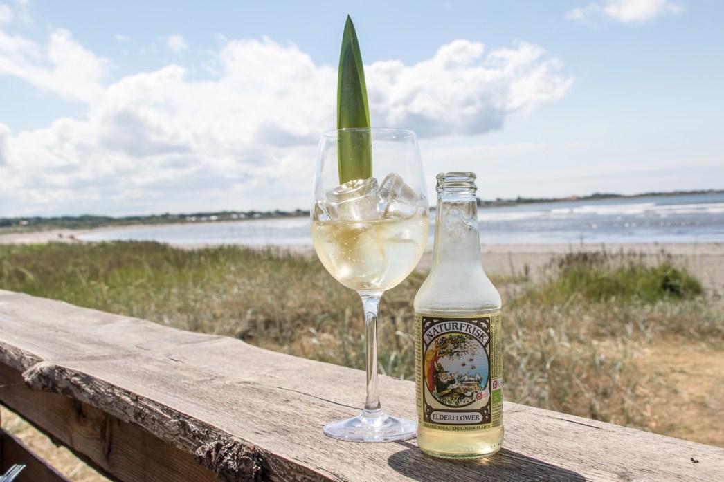 Alkoholfri aftersurf drink i Varberg