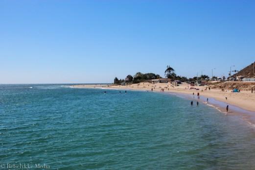Badeliv ved Malibu Beach