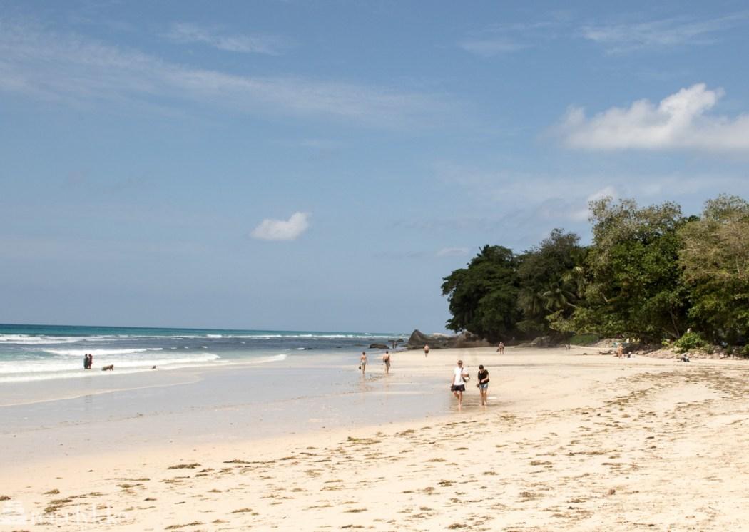 Beau Vallon Beach, Mahé, Seychellene