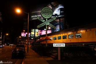 Billboards langs Sunset Strip