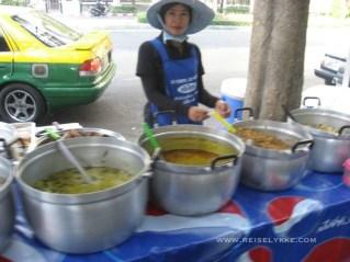 Street food i Bangkok Foto: Reiselykke