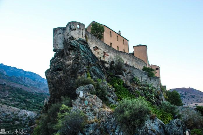 Corte på Korsika