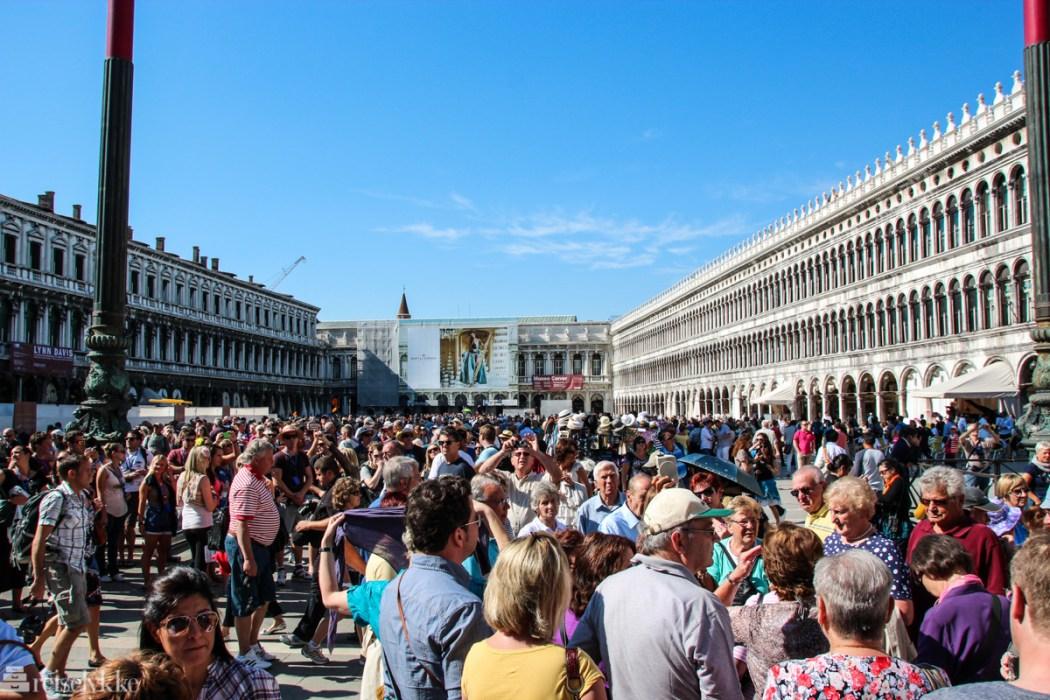 Cruiseturiser i Venezia