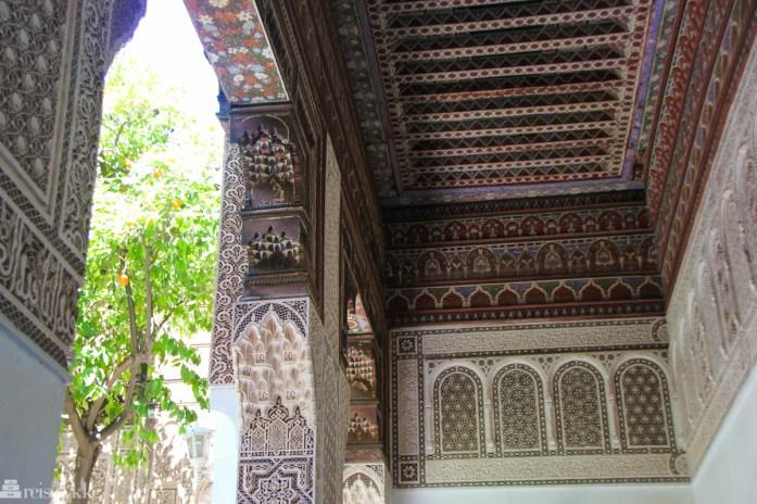 Bahia Palasset i Marrakech