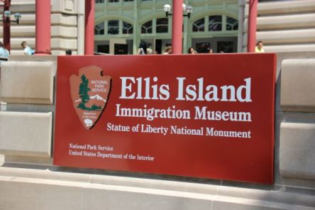 Ellis Island, sights i New York