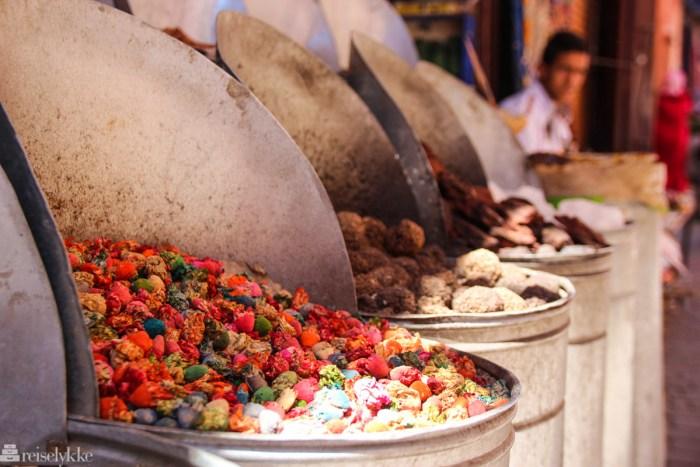 Eksotiske Marrakech i Marokko