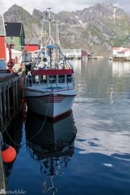 Fiskebåt i Henningsvær