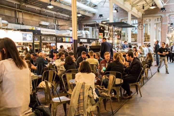 Foodhalle i Amsterdam