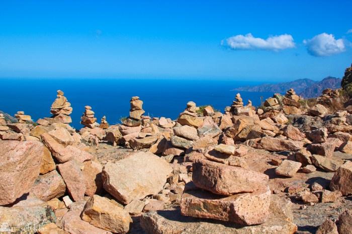 Fra Calanques de Piana på Korsika