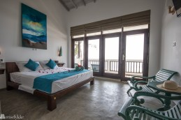 Hotellrom At Ease Hikkaduwa Sri Lanka