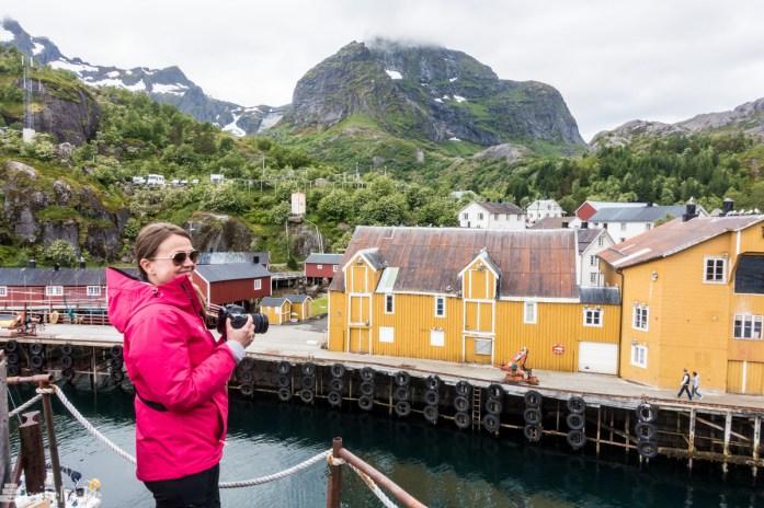 I Nusfjord, Lofoten