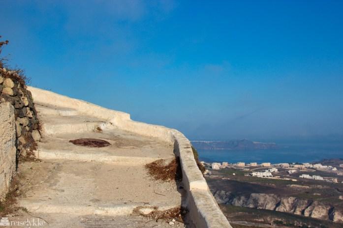 Pyrgos på Santorini
