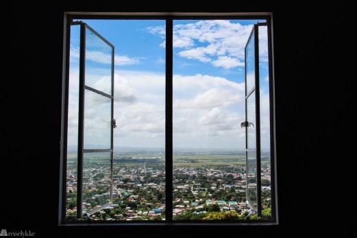Utsikt fra Mount St. Benedict på Trinidad