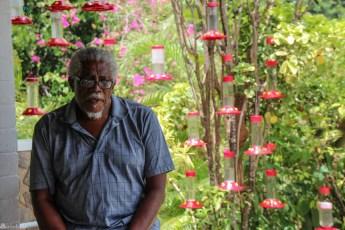 Fugler på Trinidad, Yerette, Dr. Theo Ferguson