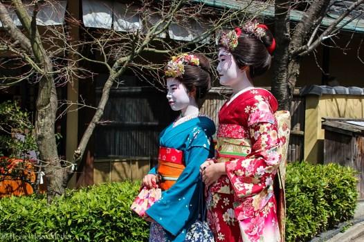 Geisha i Kyoto