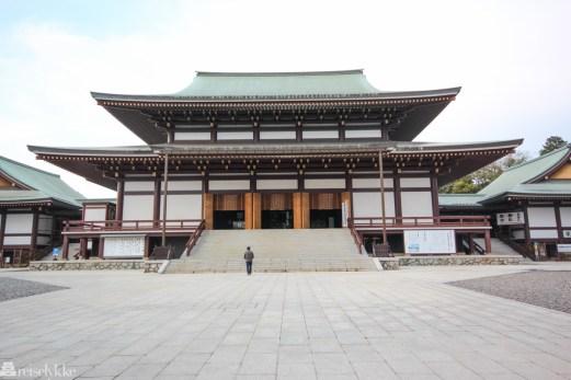 En natt på ryokan i Japan: Naritasan Shinshoji