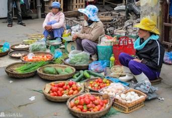 Vietnam: matmarked i Hoi An