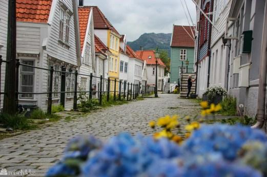 Norge i mai: Bergens gamleby