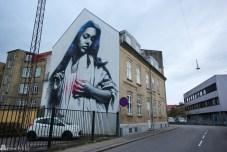 Streetart i Ålborg