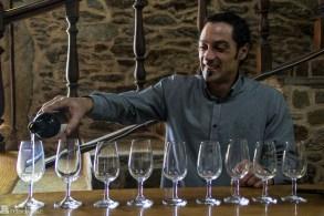 Manolos sønn er vinmakeren på Pazo de Galegos