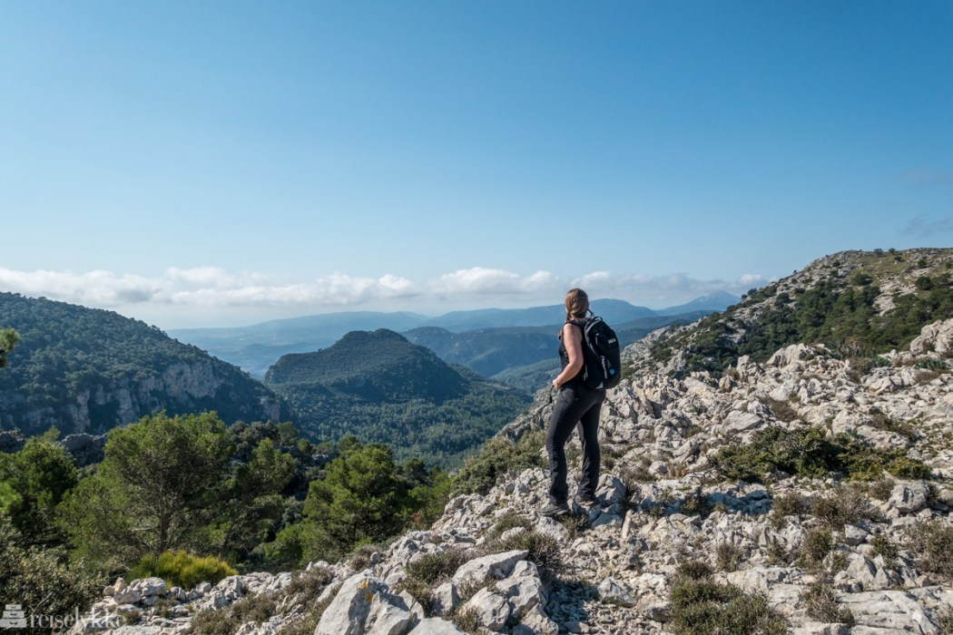 Mette i Serra de Tamunatana, Mallorca