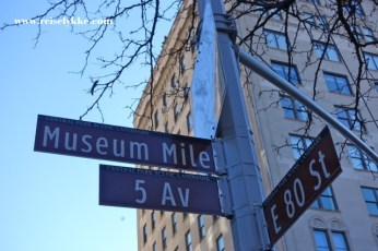 Museum Mile. Seks must see museum i New York.
