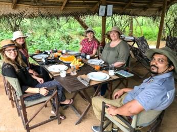 Nordic Nomads frokost i jungelen