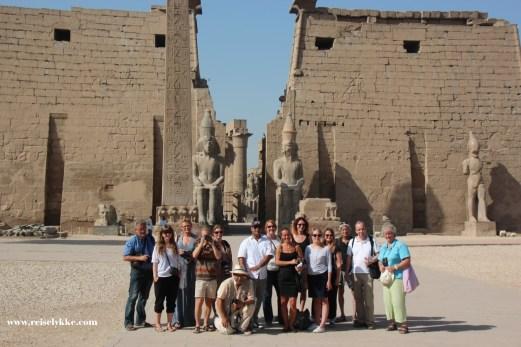 Nordisk presse i Luxor