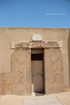 Gravkammer ved Saqqara Foto: Mette S. Fjeldheim
