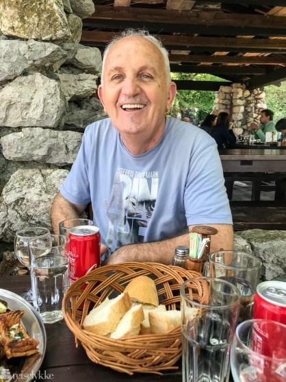 Radovan Vukašević driver restauranthuset Pješačac