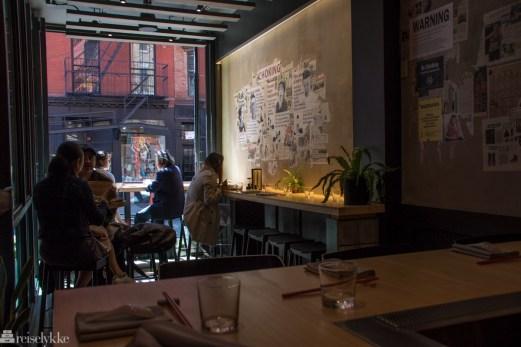 Restauranter i New York- Pinch Chinese i Soho (1 of 1)