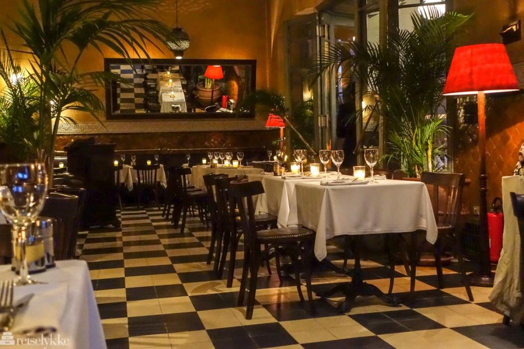 Le Grand Café de la Poste i Marrakech