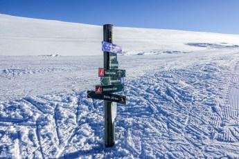 Skiturer over Hardangervidda