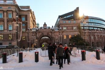 Stockholm om vinteren
