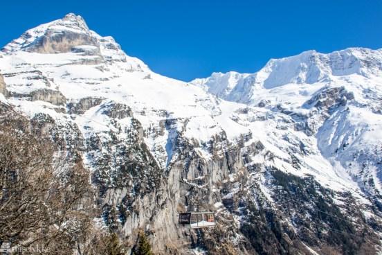 Storslåtte fjell ved Mürren